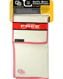 Club Glove USA Microfiber Caddy Towel - White/Pink