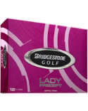 Bridgestone Women's Lady Precept Optic Pink Golf Balls - 12 Pack