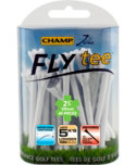 CHAMP Zarma FLYtee 2 3/4'' White Golf Tees - 40 Pack