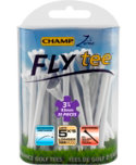 CHAMP Zarma FLYtee 3 1/4'' White Golf Tees - 30 Pack
