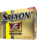 Srixon Z-STAR Tour Yellow Golf Balls (ZSTAR 3) - 12 Pack