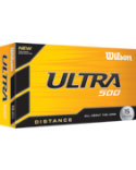 Wilson Ultra 500 Distance Golf Balls - 15 Pack