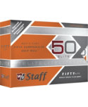 Wilson Staff Fifty Elite Orange Golf Balls - 12 Pack