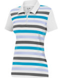 adidas Women's Puremotion Merch Stripe Polo