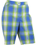 EP Pro Women's Plaid Bermuda Shorts