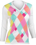 EP Pro Women's Argyle Sweater