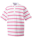 FootJoy Stretch Pique Stripe Polo (Previous Season Apparel Styles)