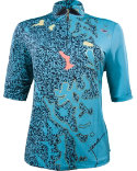 Jamie Sadock Women's Pebble Print Polo