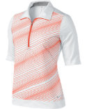 Nike Women's Stripe Mock Polo