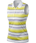 Oakley Women's Vera Stripe Sleeveless Polo