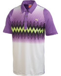 PUMA Duo Swing Graphic Stripe Polo