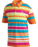 PUMA Kids' Roadmap Stripe Polo