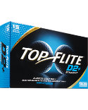 Top Flite D2+ Straight Golf Balls - 15 Pack