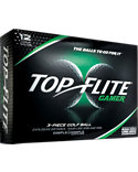 Top Flite Gamer Golf Balls - 12 Pack
