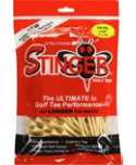 Stinger Pro XL 2 3/4'' Natural Golf Tees - 200 Pack