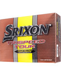 Srixon Trispeed Tour Yellow Golf Balls - 12 Pack