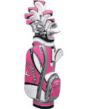 Callaway Women's Solaire Gems Complete Set - Pink