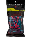 Maxfli 2 3/4'' Berry Golf Tees - 100 Pack