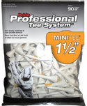 Pride PTS 1 1/2'' White Golf Tees - 90 Pack