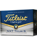 Titleist NXT Tour S Golf Balls - 12 Pack