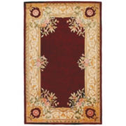 Momeni® Open Field Hand-Carved Wool Rectangular Rugs