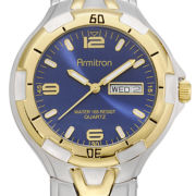 Armitron® Mens Two-Tone Sport Watch