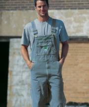 Liberty® Stonewashed Bib Overalls - Big & Tall