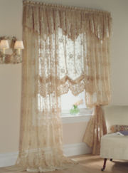 jcp home™ Shari Lace Rod-Pocket Window Treatments