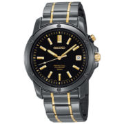 Seiko® Mens Perpetual Calendar Watch