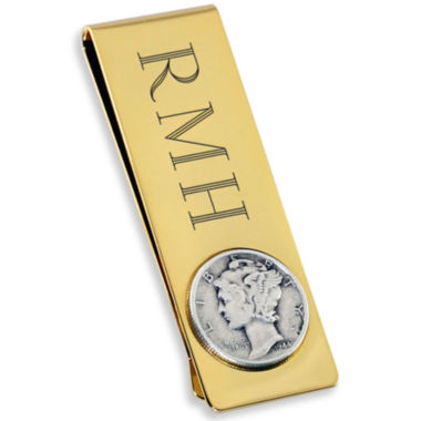 jcpenney.com | Engravable 18K Gold Electroplated Money Clip