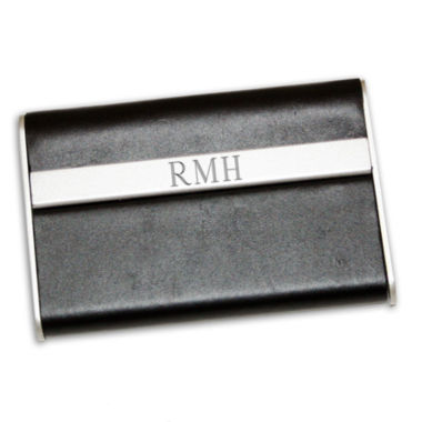 jcpenney.com | Engravable Leather Business Card Case