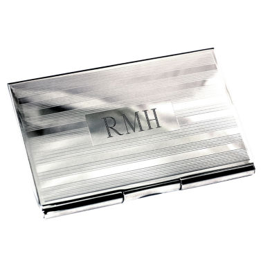 jcpenney.com | Silver Engravable Business Card Case