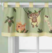NoJo® Jungle Babies Valance