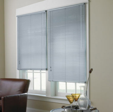 "jcpenney.com | JCPenney Home™ 1"" High-Gloss Vinyl Horizontal Blinds"