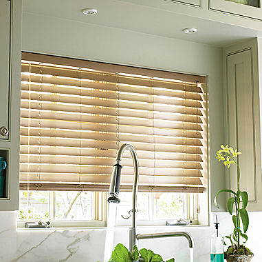 Jcpenney Home Custom 2 Quot Smart Faux Wood Horizontal Blinds