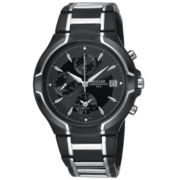 Pulsar® Mens Stainless Steel Watch PF3547