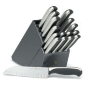 J.A. Henckels 17-pc. Everedge Plus Knife Set