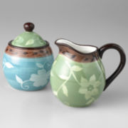Pfaltzgraff® Patio Garden Sugar & Creamer Set