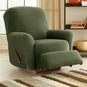 Maytex Collin Stretch 4-piece Recliner Slipcover