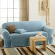 Maytex Collin Stretch 1-piece Sofa Slipcover