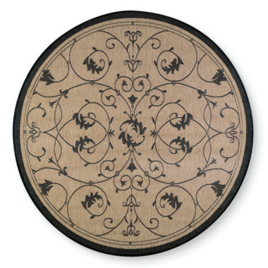 jcpenney.com | Couristan® Veranda Indoor/Outdoor Round Rug
