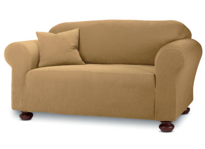 SURE FIT® Stretch Piqué 1-pc. Loveseat Slipcover