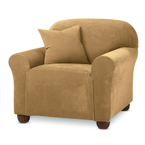 SURE FIT® Stretch Piqué 1-pc. Chair Slipcover