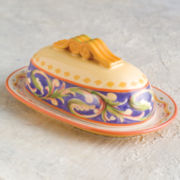 Pfaltzgraff® Villa della Luna Covered Butter Dish
