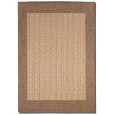 jcpenney.com | Couristan® Checkered Field Indoor/Outdoor Rectangular Rug