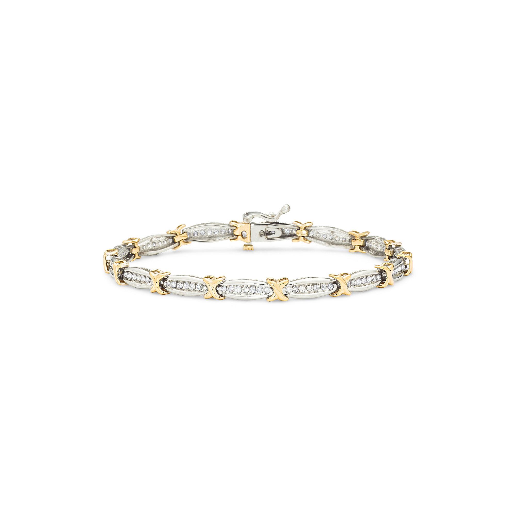 1 CT. T.W. Diamond Tennis Bracelet