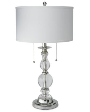 jcpenney.com | Royal Velvet® Optic Crystal Table Lamp