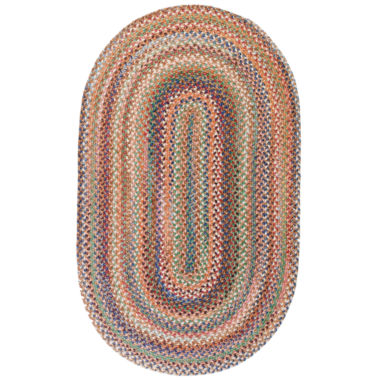 jcpenney.com | Capel American Traditions Braided Wool Oval Rug