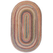Capel American Traditions Braided Wool Oval Rugs