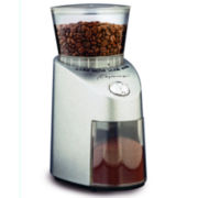 Capresso® Infinity Conical Burr Grinder Die Cast Stainless Steel